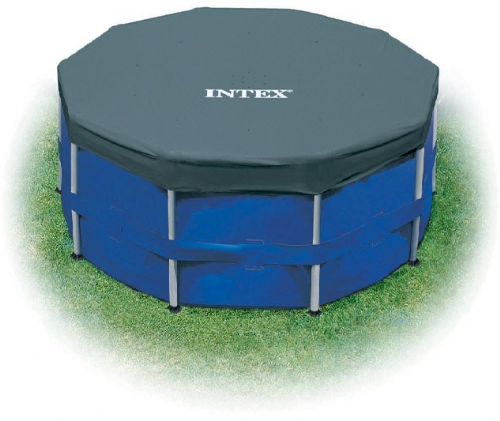 Intex 15ft Metal Frame Winter Debris Covers